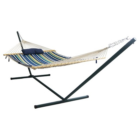 Blue Wave Island Retreat 12' Hammock Set - Blue Cover - image 1 of 1