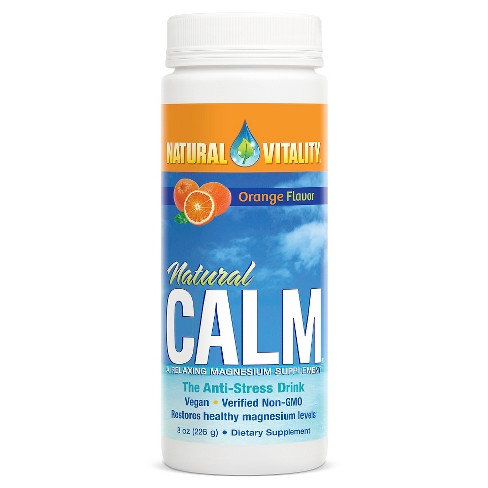 Natural Vitality Natural Calm Magnesium Supplement Powder - Orange - image 1 of 1