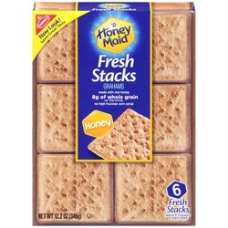 Honey Maid Fresh Stacks Honey Graham Crackers - 12.2oz