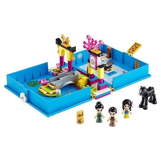 LEGO Disney Mulan's Storybook Adventures Princess Building Playset 43174 image number null