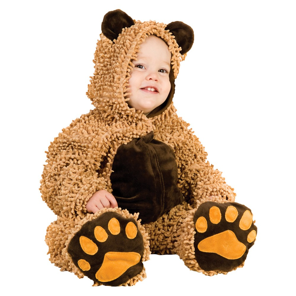 Image of Halloween Toddler Chenille Teddy bear Costume 12-18m, Adult Unisex, MultiColored