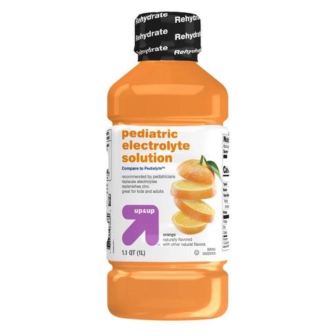 Pediatric Oral Electrolyte Solution Orange - 1L - Up&Up™ - image 1 of 4