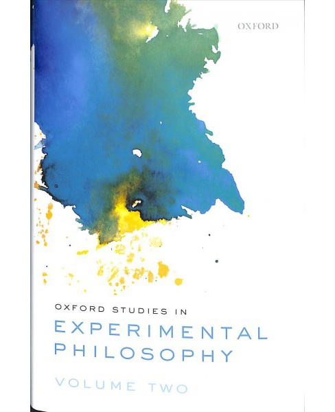 Oxford Studies in Experimental Philosophy -   Book 2 (Hardcover) - image 1 of 1