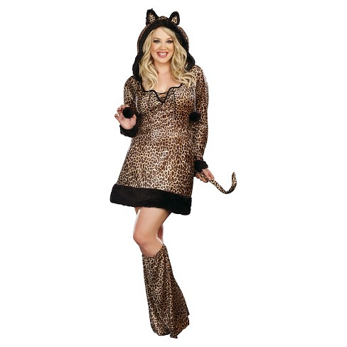Women's Cheetah Luscious Costume - image 1 of 1
