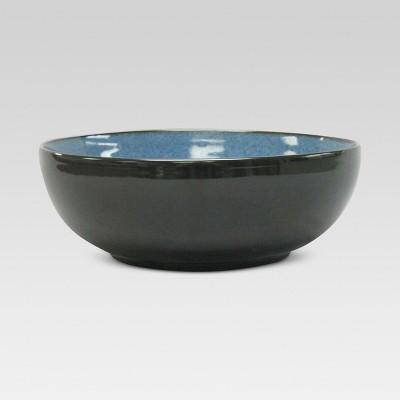 Belmont Serving Bowl Stoneware Blue 60oz - Threshold™