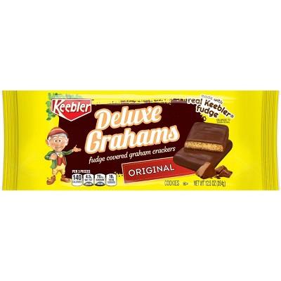 Keebler Deluxe Grahams Fudge Covered Graham Crackers - 12.5oz