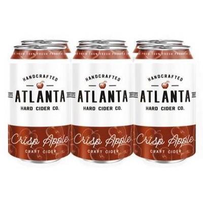 Atlanta Crisp Apple Hard Cider - 6pk/12 fl oz Cans