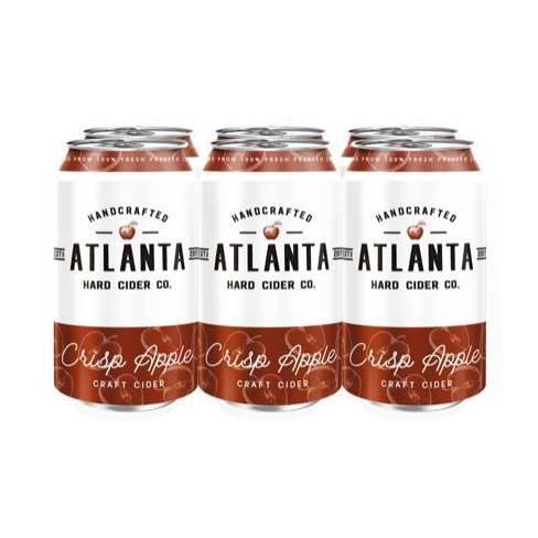 Atlanta Crisp Apple Hard Cider - 6pk/12 fl oz Cans - image 1 of 2