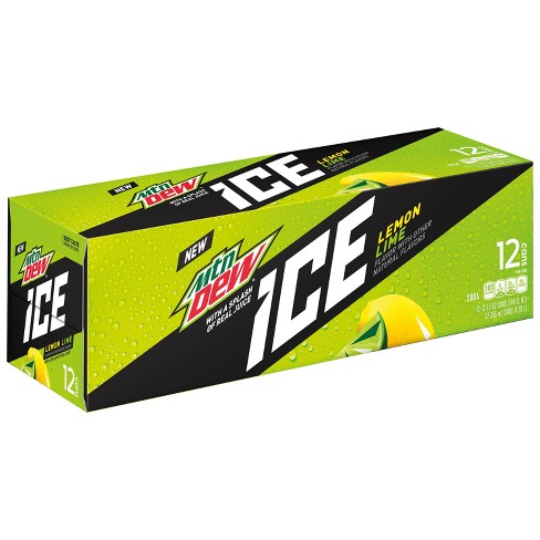 Mountain Dew ICE Lemon Lime - 12pk/12 fl oz Cans - image 1 of 3
