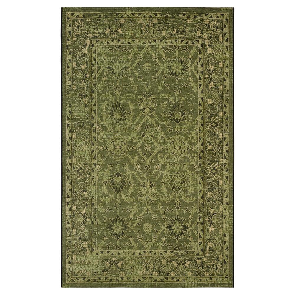 Tarrin Area Rug - Dark Green (5' X 8') - Safavieh