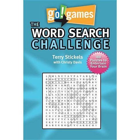 Go!games the Word Search Challenge - by  Terry Stickels & Christy Davis (Paperback) - image 1 of 1