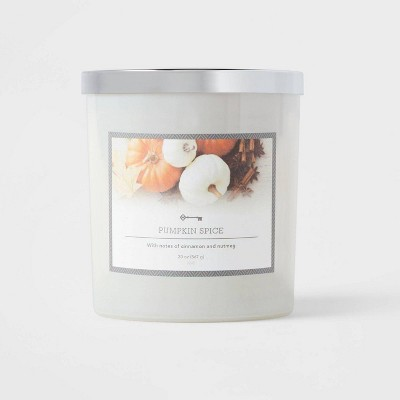 Glass Jar Pumpkin Spice Candle - Threshold™