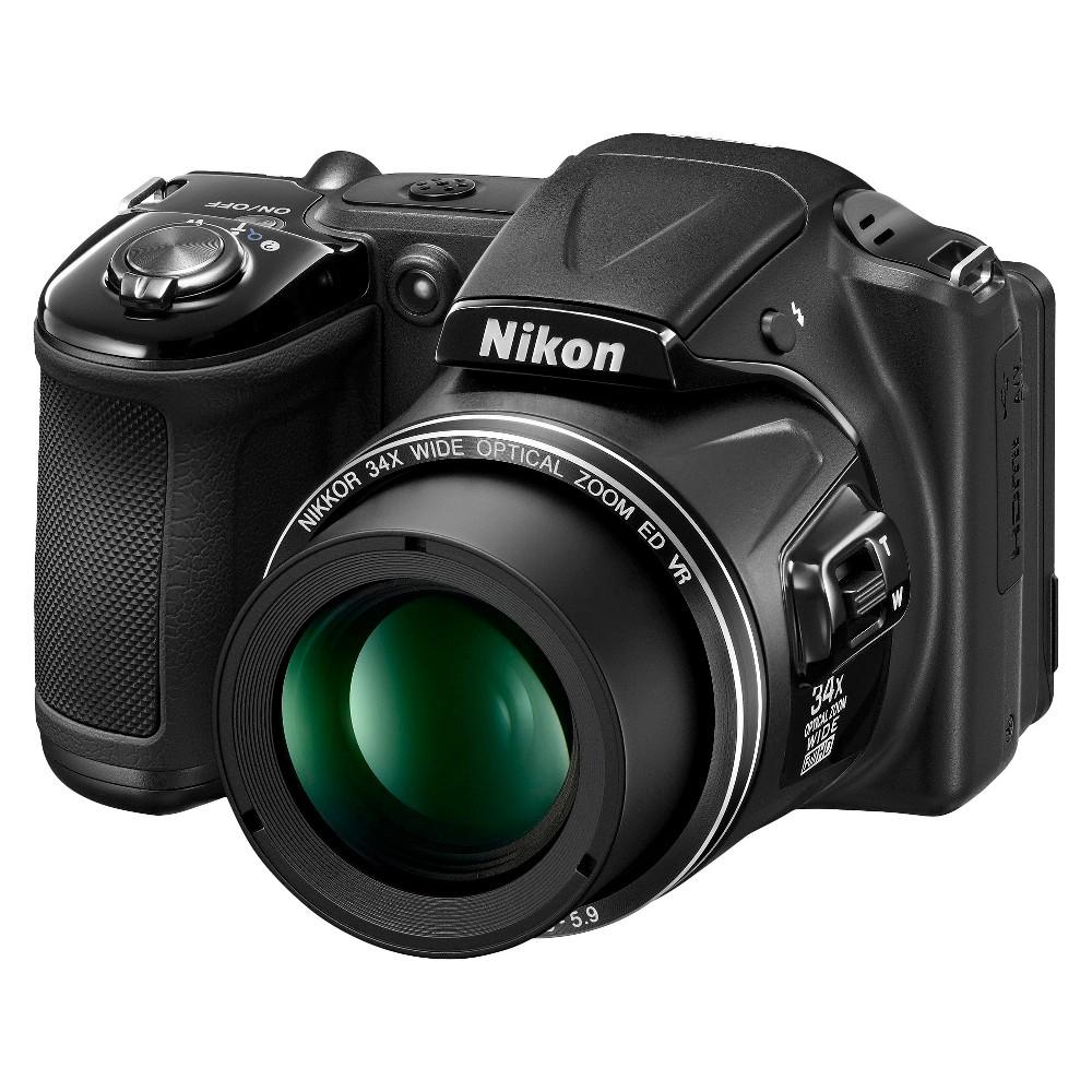 Nikon L830 16MP Digital Camera with 30X Optical Zoom - Black