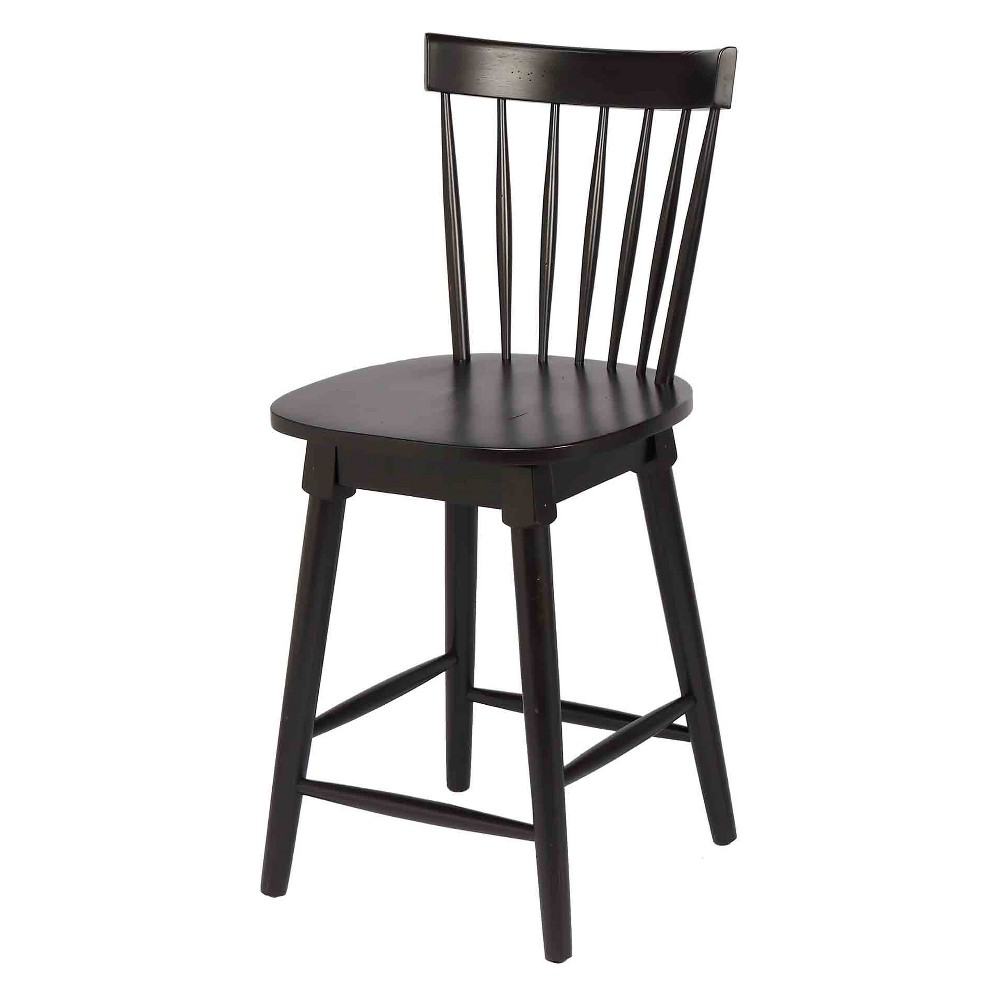 """Image of """"40.5"""""""" Elise Counter Height Swivel Stool Black - Foremost"""""""
