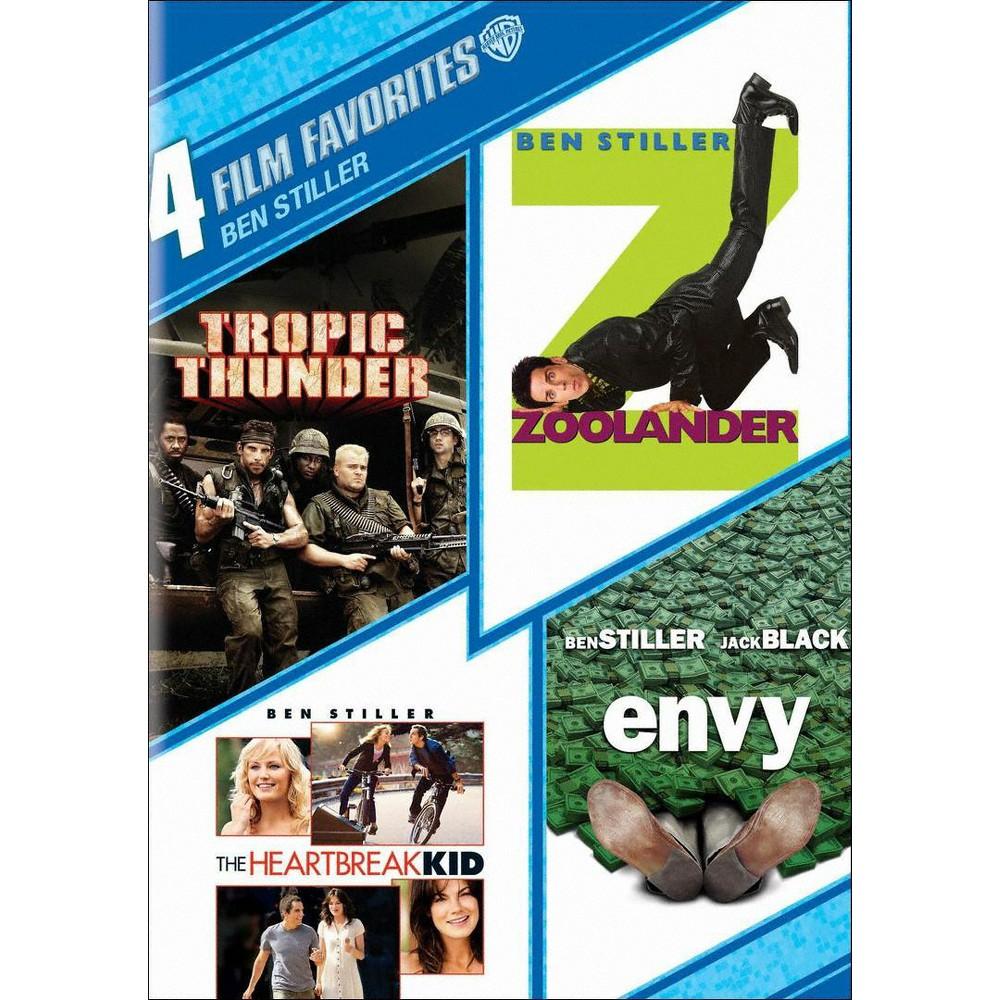 Ben Stiller: 4 Film Favorites [4 Discs]