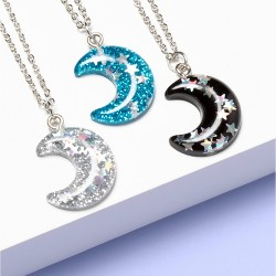 Girls' 3pk Moon Necklace - More Than Magic™
