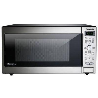 Panasonic NN-SD745S Powerful 1,250 Watt 1.6 Cubic Foot Built In/Countertop Microwave Oven (Manufacturer Refurbished)