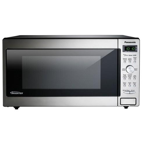 Panasonic NN-SD745S Powerful 1,250 Watt 1.6 Cubic Foot Built In/Countertop Microwave Oven (Certified Refurbished) - image 1 of 1
