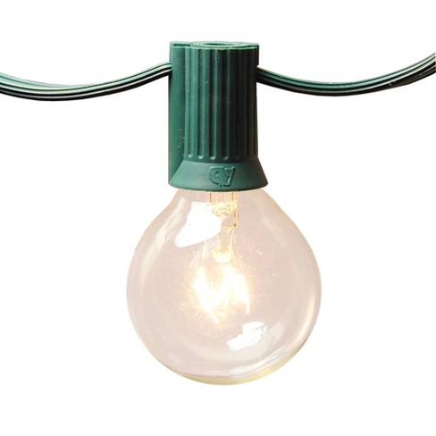25 Lights Electric Globe String Lights - image 1 of 4