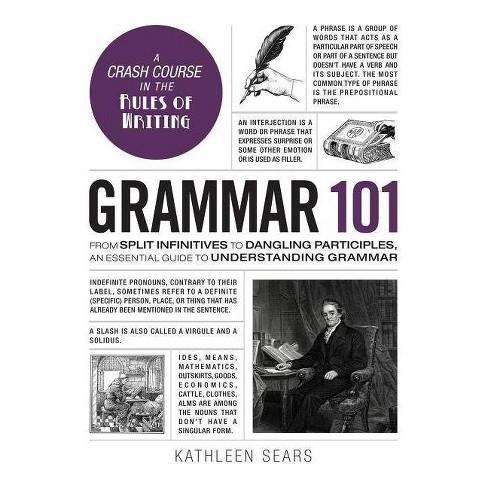 Grammar 101 - (Adams 101) by  Kathleen Sears (Hardcover) - image 1 of 1