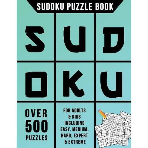 Sudoku Puzzle Book - by Sudoku Books Creation Team (Paperback)
