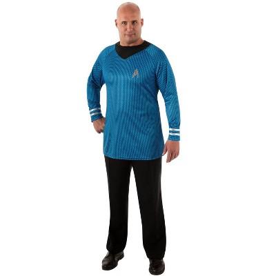 Rubies Men's Deluxe Star Trerk Spock Plus Size Costume