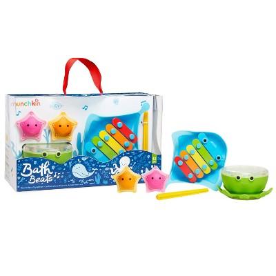 Munchkin Bath Beats Musical Bath Toy Xylophone Bath Drum and Shakers Gift Set