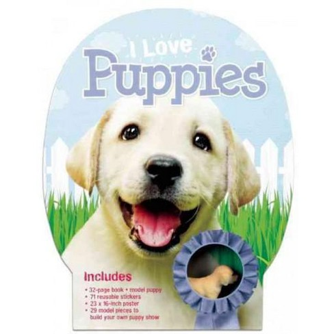 I Love Puppies Paperback Annabel Savery Target