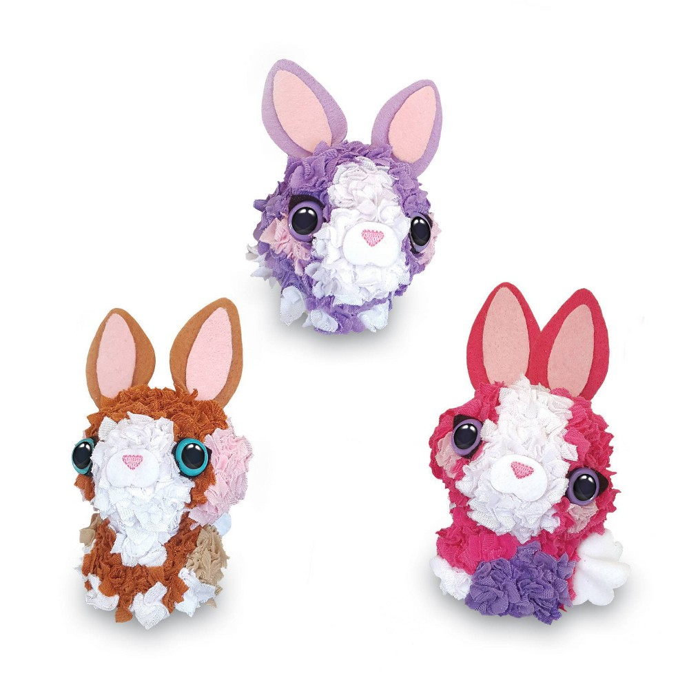 Image of PlushCraft 3D Mini Baby Bunnies
