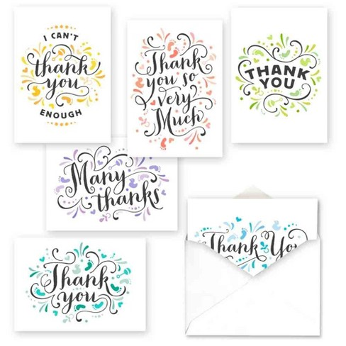 36ct Pretty Baby Thank You Assortment Card Packs - image 1 of 2
