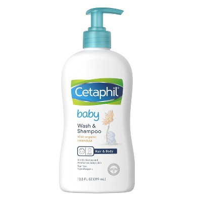 Cetaphil Baby 2-in-1 Hair Shampoo And Body Wash - 13.5 fl oz