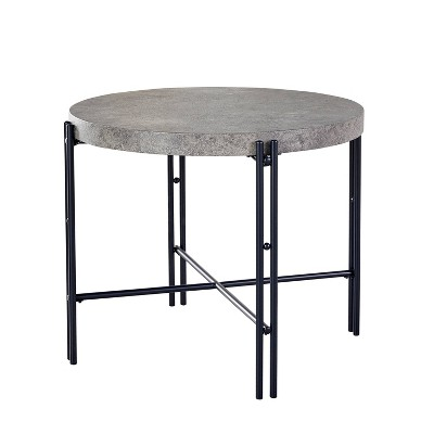 Morgan Round Counter Table Black - Steve Silver Co.