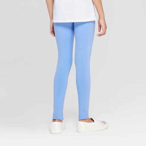 e2713f321b383 Girls' Leggings - Cat & Jack™ Periwinkle : Target