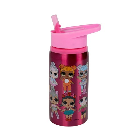 19oz Stainless Steel Water Bottle Pink - L.O.L. Surprise! - image 1 of 3