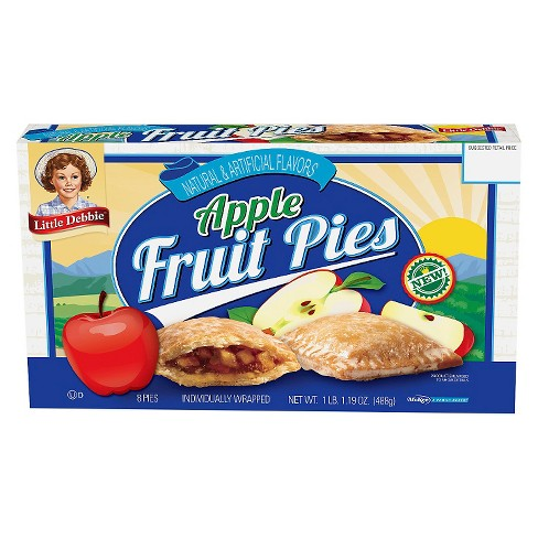 Little Debbie Family Pack Apple Fruit Pies - 17oz - image 1 of 1