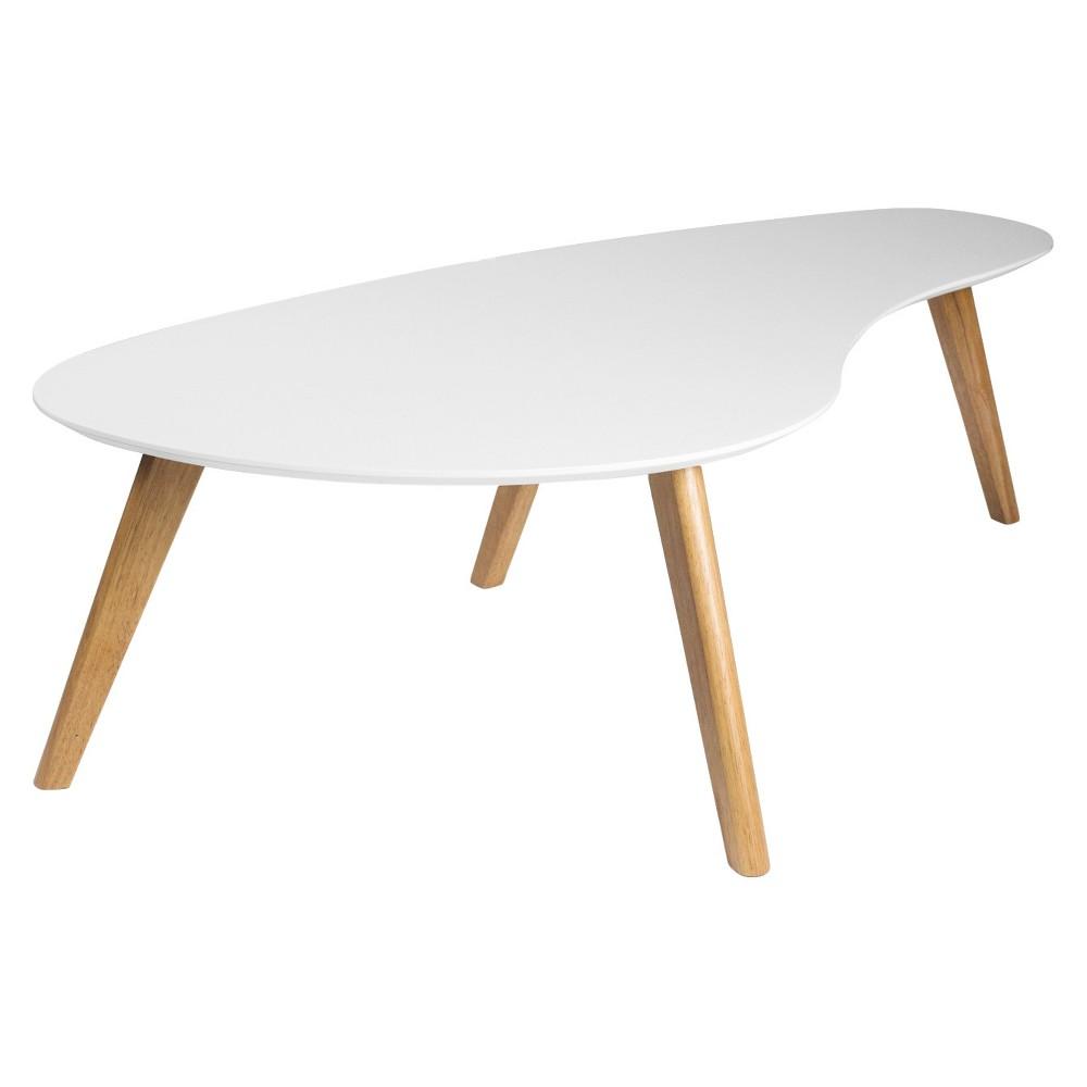 Darius Coffee Table - White - Aeon