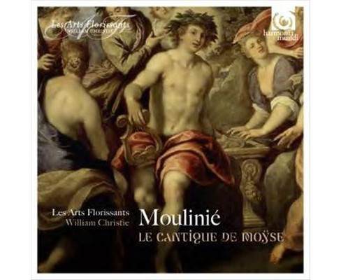 Les arts florissants - Moulinie:Le cantique de moyse (CD) - image 1 of 1