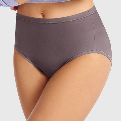bb0e0a03d6c Hanes Premium Women's Cool & Comfortable Microfiber Briefs Panties 4pk