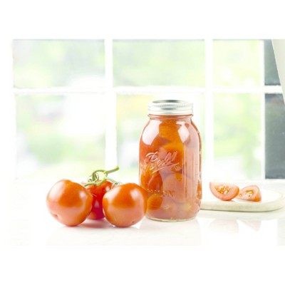 Ball 32oz Glass Mason Jar with Lid and Band - Regular Mouth