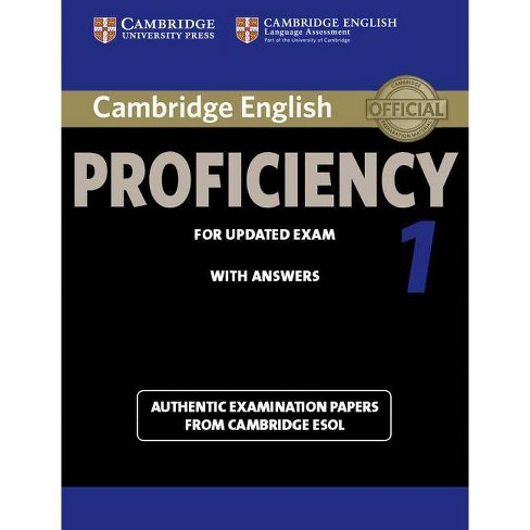 Cambridge English Proficiency 1 for Updated Exam Student's Book with  Answers - (Cpe Practice Tests)