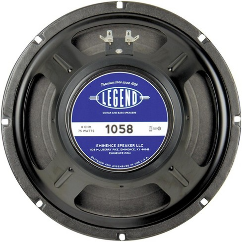 Eminence Legend 1058 10 In Guitar Speaker - image 1 of 3