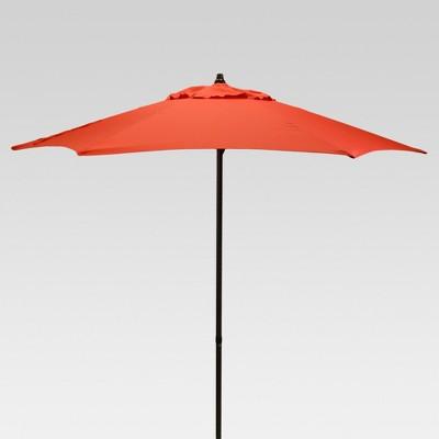 7.5' Round Patio Umbrella - Red - Room Essentials™