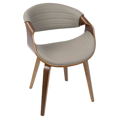 Symphony Mid Century Modern Dining, Accent Chair - LumiSource