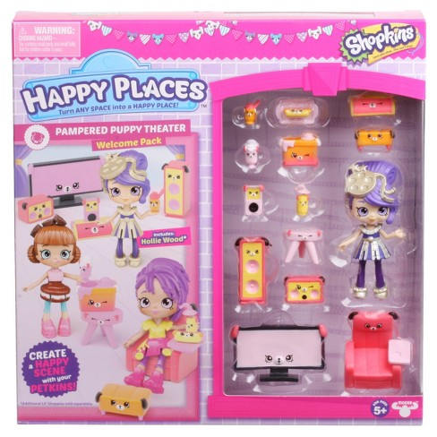Happy Places™ Shopkins™ Welcome Pack - Pampered Puppy Theater - image 1 of 5