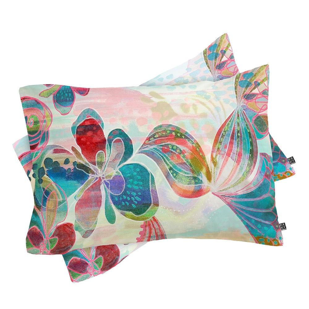 Stephanie Corfee My Free Spirit Pillow Sham Standard Orange - Deny Designs