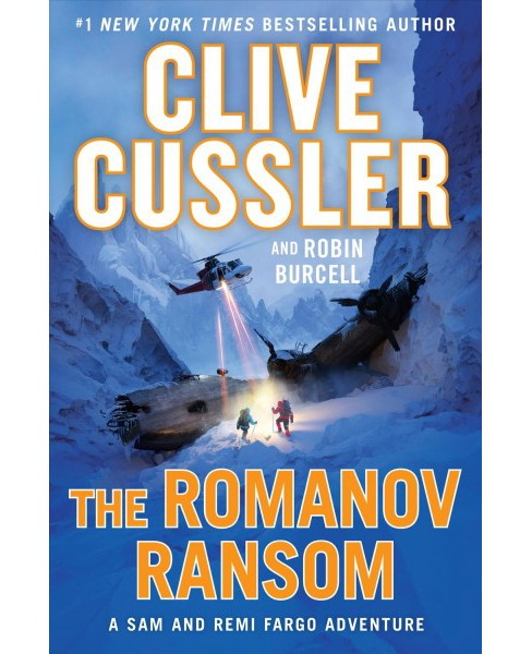 Romanov Ransom -  Large Print by Clive Cussler & Robin Burcell (Hardcover) - image 1 of 1