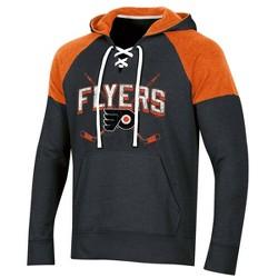 NHL Philadelphia Flyers Men's Hat Trick Laced Hoodie