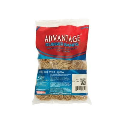 Alliance Advantage Latex Rubber Band, No 54, Assorted Size, 1 lb Box, Natural
