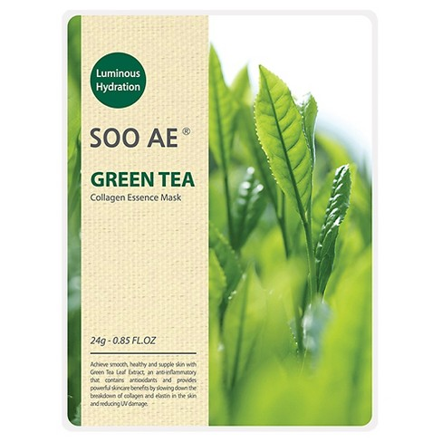 Soo Ae® Luminous Hydration Collagen Essence Mask - Green Tea - 5ct - image 1 of 1