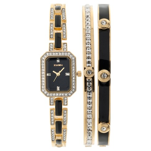 Women's Elgin® Watch - Black - image 1 of 1